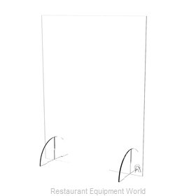 Spartan Refrigeration SACS-2436-ACRYLIC-CLOSED Safety Shield / Guard