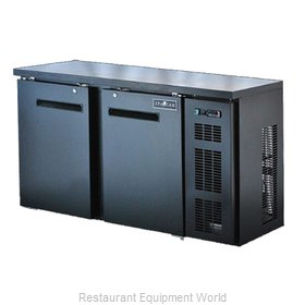 Spartan Refrigeration SBBB-58-SL Back Bar Cabinet, Refrigerated