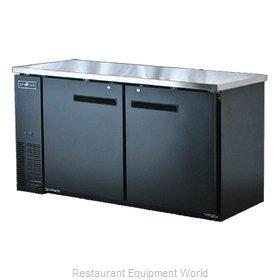 Spartan Refrigeration SBBB-60 Back Bar Cabinet, Refrigerated