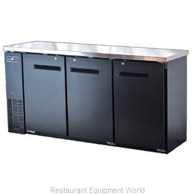 Spartan Refrigeration SBBB-72 Back Bar Cabinet, Refrigerated
