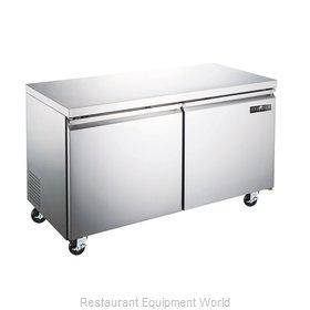 Spartan Refrigeration SUF-48 Freezer, Undercounter, Reach-In