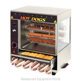 Star 175CBA Hot Dog Broiler / Rotisserie