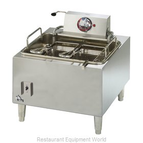 Star 301HLF Fryer, Electric, Countertop, Full Pot