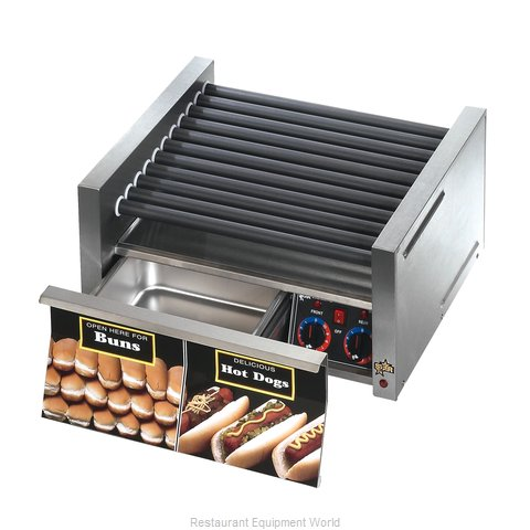 Star 30SCBDE Hot Dog Roller Grill (Magnified)