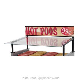 Star 30SG-G Hot Dog Grill Sneeze Guard