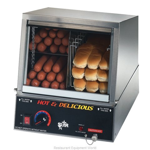 Star 35SSA Hot Dog Steamer (Magnified)
