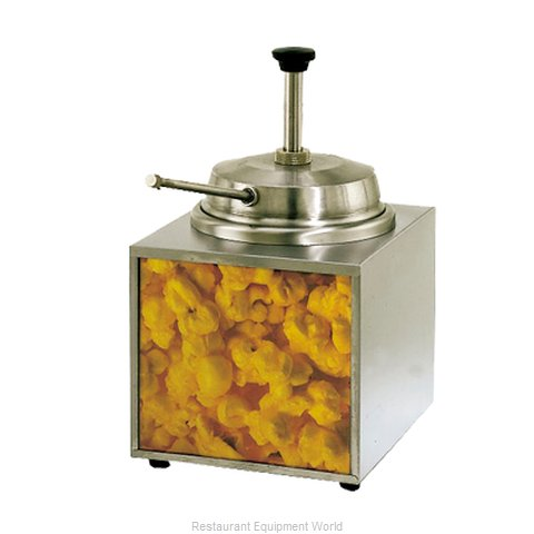 Star 3WLA-B Lighted Butter Warmer (Magnified)