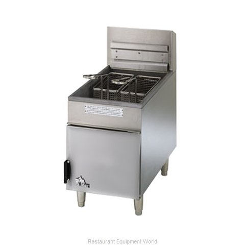 Star 404F Fryer Counter Unit Gas Full Pot