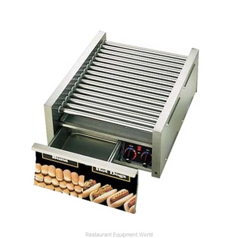 Star 45CBD Hot Dog Roller Grill (Magnified)