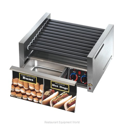 Star 50SCBD Hot Dog Grill (Magnified)