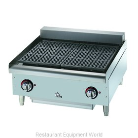Star 5124CF Charbroiler Electric Counter