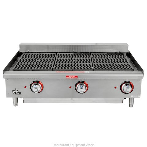 Star 5136CF Charbroiler Electric Counter