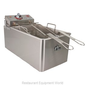 Star 514LL Fryer, Electric, Countertop, Full Pot