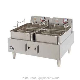 Star 530TF CSA Fryer, Counter Unit, Electric, Split Pot