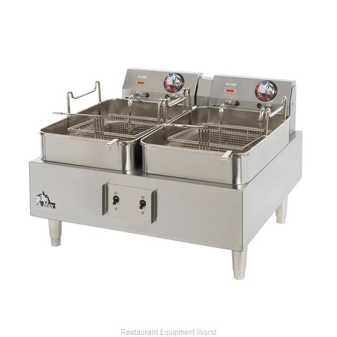 Star 530TF Fryer Counter Unit Electric Split Pot (Magnified)