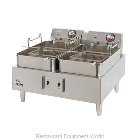 Star 530TF Fryer Counter Unit Electric Split Pot
