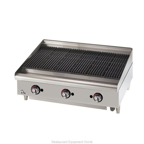 Star 6036CBF Charbroiler Gas Counter Model