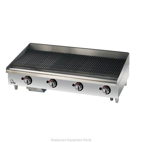 Star 6048CBF Charbroiler Gas Counter Model