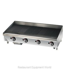 Star 6048CBF Charbroiler, Gas, Countertop