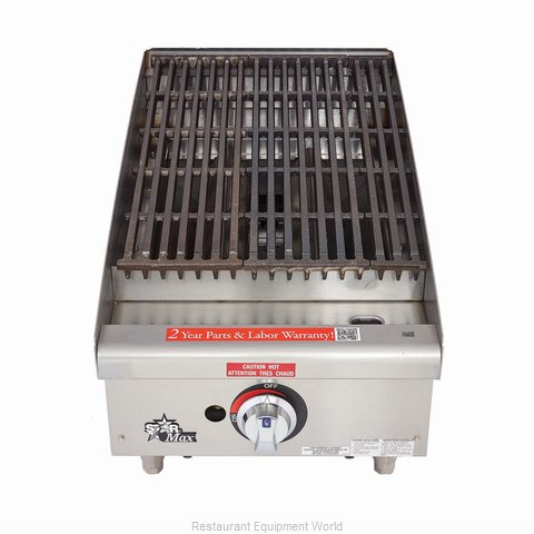 Star 6115RCBF Charbroiler Gas Counter Model (Magnified)