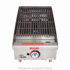 Star 6115RCBF Charbroiler Gas Counter Model