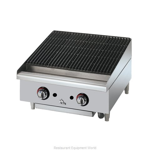 Star 6124RCBF Charbroiler, Gas, Countertop (Magnified)