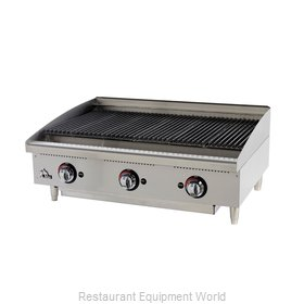 Star 6136RCBF Charbroiler Gas Counter Model