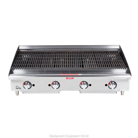 Star 6148RCBF Charbroiler Gas Counter Model (Magnified)