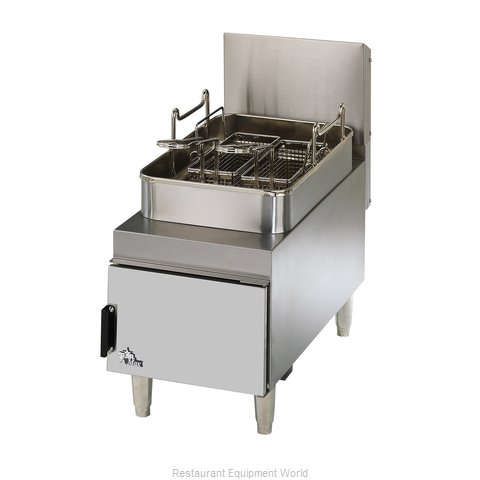 Star 615FF Fryer Counter Unit Gas Full Pot
