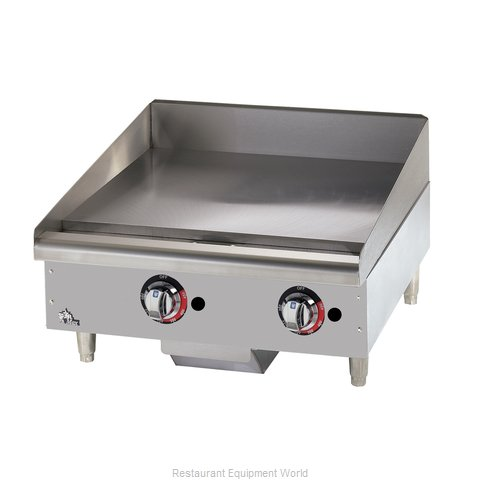 Star 624MF Griddle Counter Unit Gas