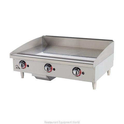Star 636MF Griddle Counter Unit Gas