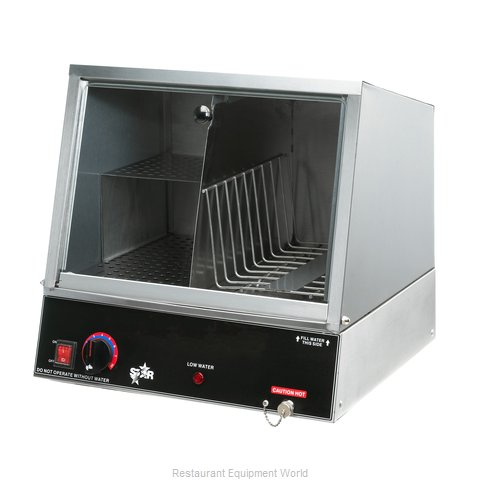 Star 70SSA Hot Dog Steamer (Magnified)