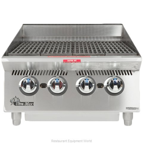 Star 8024CBA Charbroiler, Gas, Countertop (Magnified)