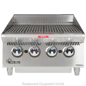 Star 8024CBA Charbroiler, Gas, Countertop