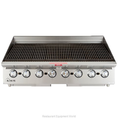 Star 8036CBA Charbroiler Gas Counter Model