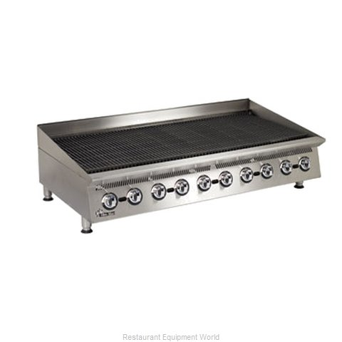 Star 8060CBA Charbroiler Gas Counter Model