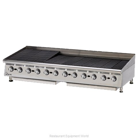 Star 8072CBA Charbroiler Gas Counter Model