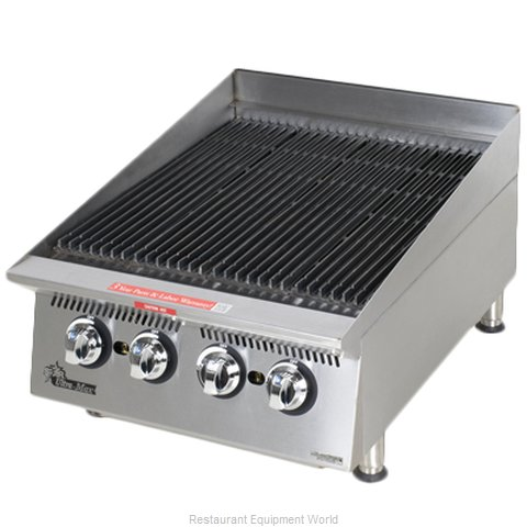 Star 8124RCBA Charbroiler Gas Counter Model (Magnified)