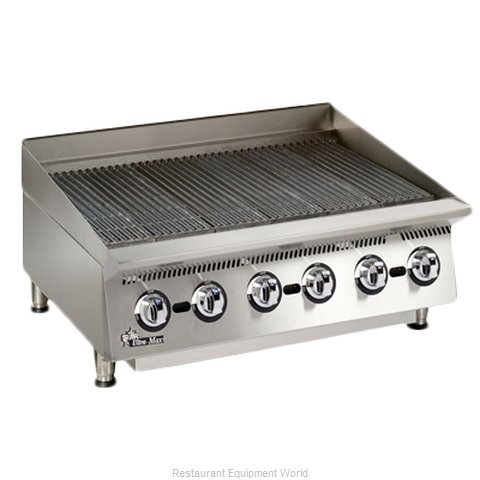 Star 8136RCBA Charbroiler Gas Counter Model (Magnified)