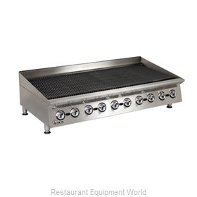 Star 8160RCBA Charbroiler Gas Counter Model