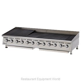 Star 8172RCBA Charbroiler Gas Counter Model