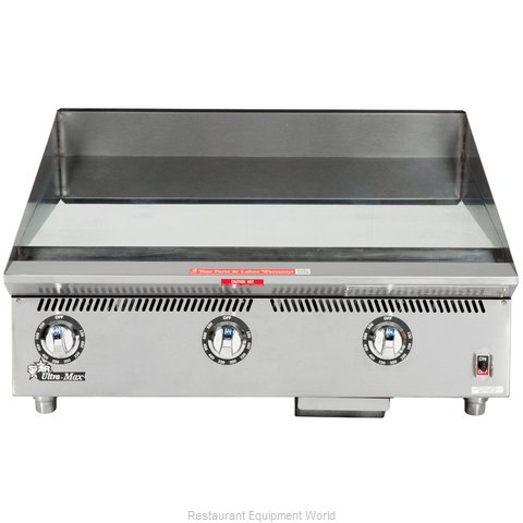 Star 836TSCHSA Griddle Counter Unit Gas