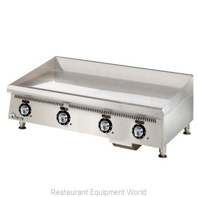 Star 872TCHSA Griddle, Gas, Countertop