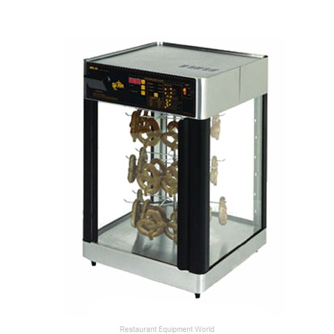 Star HFD2AP Humidified Pretzel Display (Magnified)