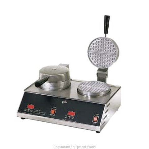 Star SWB7R2E Double Standard Waffle Iron Baker