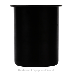 30 oz. Black Plastic Container