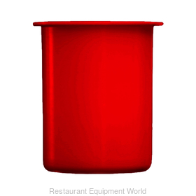 30 oz. Red Plastic Container