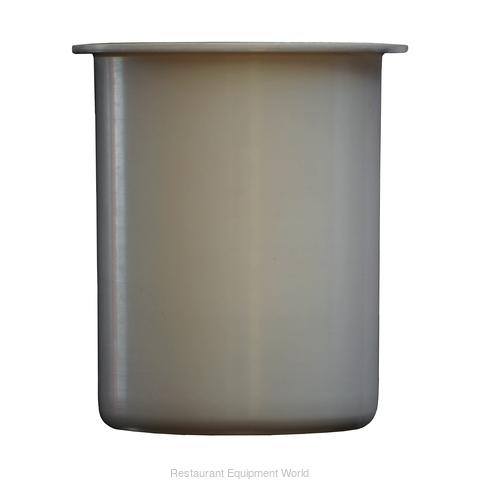 30 oz. White Plastic Container