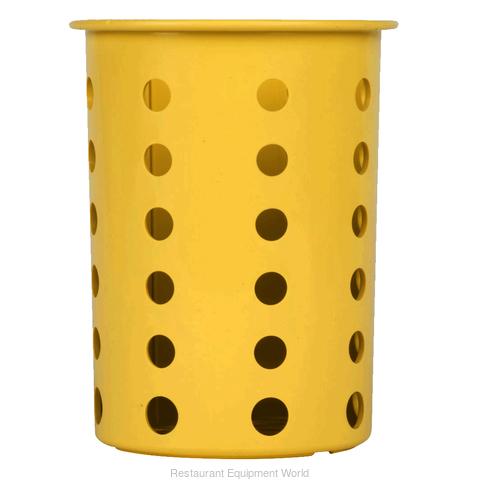 Silverware Cylinder, Yellow