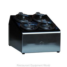 4-hole Condiment Dispenser, Complete